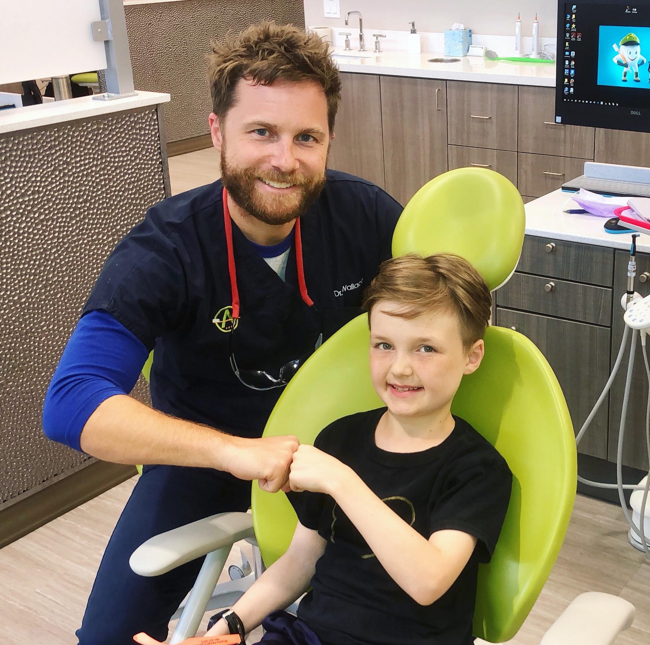 Dr. Wallace & Patient